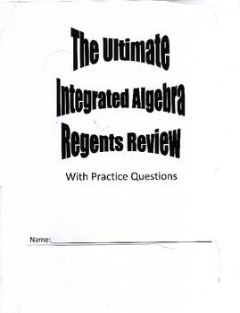 Algebra Review Packet
