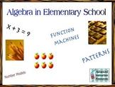 Algebra Review - Third Grade CCSS