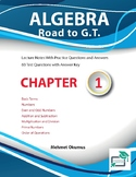 Algebra Road to GT Basic Terms