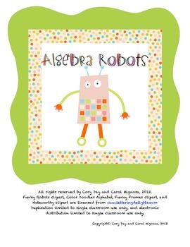 Algebra Robots