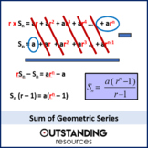 Sequences 9 - Sum of Geometric series (+ 2 worksheets)