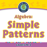 Algebra: Simple Patterns - NOTEBOOK Gr. PK-2