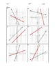 Algebra Skill Builder - Graphing Inverse Linear Functions FREE