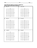 Algebra Skill Builder - Graphing Linear Equations in Standard Form