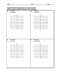 Algebra Skill Builder - Graphing Systems of Linear Inequalities