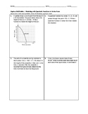 Algebra Skill Builder - Modeling with Quadratic Functions in Vertex Form FREE