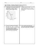 Algebra Skill Builder - Modeling with Quadratic Functions in Vertex Form