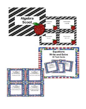 Algebra Skills Bundle