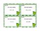 Algebra-Solving Equations Using All 4 Operations- Grade 6-24 Cards-Glitter Green