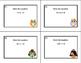 Algebra-Solving Equations Using All 4 Operations- Grade 6-32 Math Task Cards