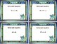 Algebra-Solving Equations Using All Four Operations- Grade 6 -Task Cards