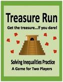 Algebra: Solving Inequalities Game - Treasure Run