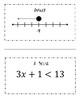 Algebra Solving Inequalities Scavenger Hunt Activity