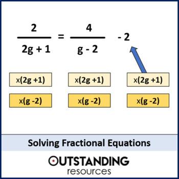 Algebra: Solving Linear Equations 2 - Higher Tier (+ worksheets)