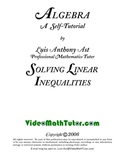 Algebra: Solving Linear Inequalities