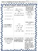 Algebra Solving Quadratic by Completing the Square Choice Board