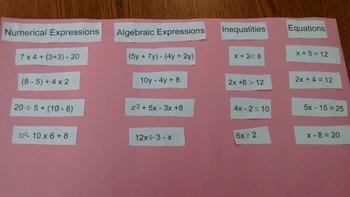Algebra Sort