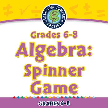 Algebra: Spinner Game - PC Gr. 6-8