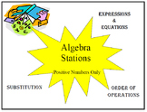 Algebra Stations using only positive numbers