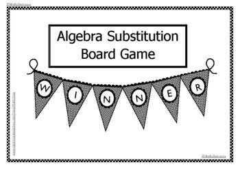 Algebra Substitution