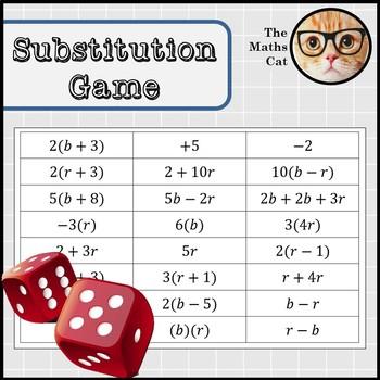 Algebra Substitution Game