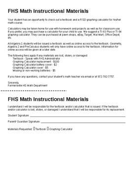 Algebra Syllabus