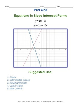 Algebra Systems of Equations
