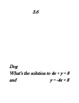 Algebra: Systems of Equations Scavenger Hunt