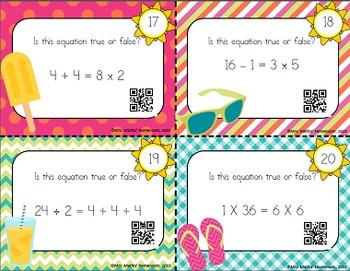 Algebra Task Cards: Finding the Missing Number