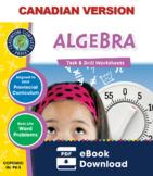 Algebra - Task & Drill Sheets Gr. PK-2 - Canadian Content