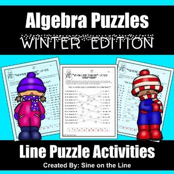 Algebra Winter Holiday Puzzles