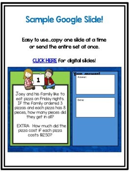 Algebraic Thinking Changing Variable Word Problem Collection: Grade 2-3