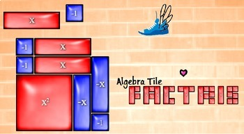 Algebra Tile Factris - Factoring Computer Game