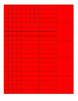 Algebra Tile Template