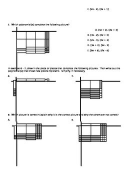 Algebra Tiles - Bundle