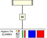 Algebra Tiles Smart Board Template