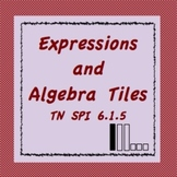 Algebra Tiles and Algebraic Expressions, TN SPI 6.1.5