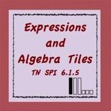 Algebra Tiles and Algebraic Expressions, TN SPI 6.1.5