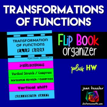 Transformations of Functions Flip Book plus HW