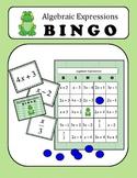 Algebra: Translating Algebraic Expressions BINGO Game