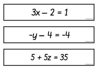 Algebra - Two-Step Equations