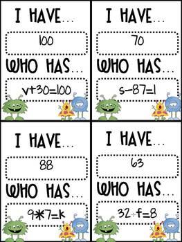 "Algebra Unit: ""Aah""lgebra Is Not So Scary"