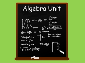 Algebra Unit of Work