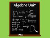 Algebra Unit of Work