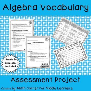 Algebra Vocabulary Assessment Project