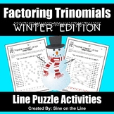 Algebra Winter Activity - Factoring Trinomials
