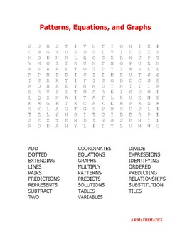 Algebra Word Search Book 1