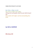 Algebra Word Search Puzzle Book