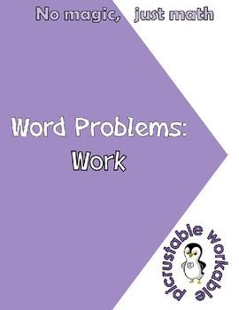 Algebra Work Word Problems