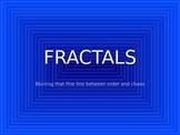 Fractals PowerPoint